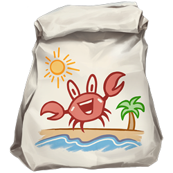 Bolsa de cangrejo