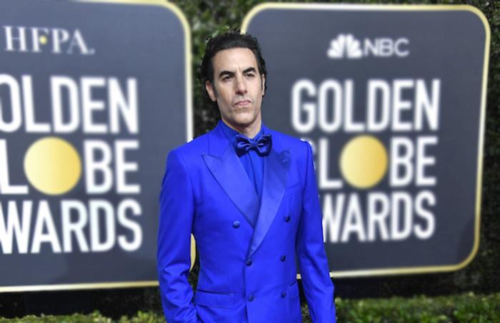 Sacha Baron Cohen es Borat Margaret Sagdiyev