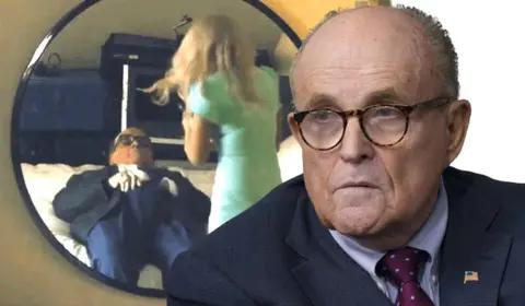 Rudy Giuliani como él mismo
