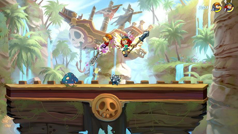 Rayman y sus amigos llegan a Brawlhalla