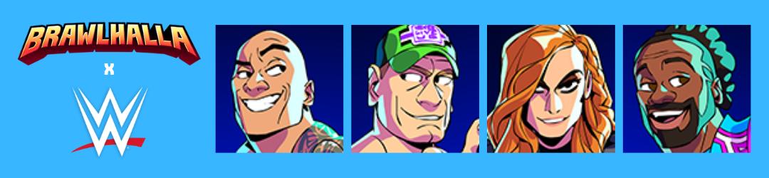 Brawlhalla y WWE Crossover
