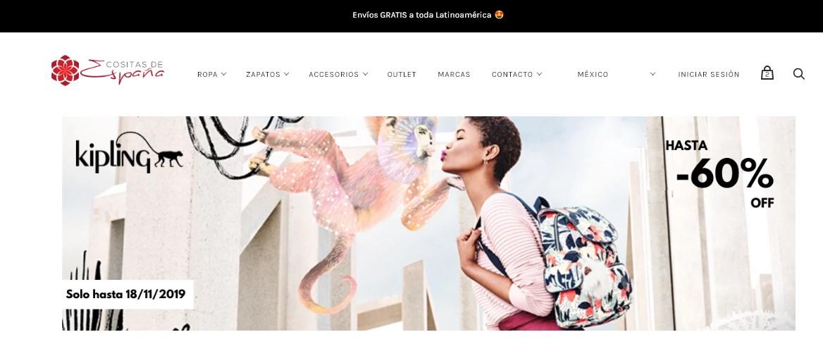 Tienda en línea Cositas de España