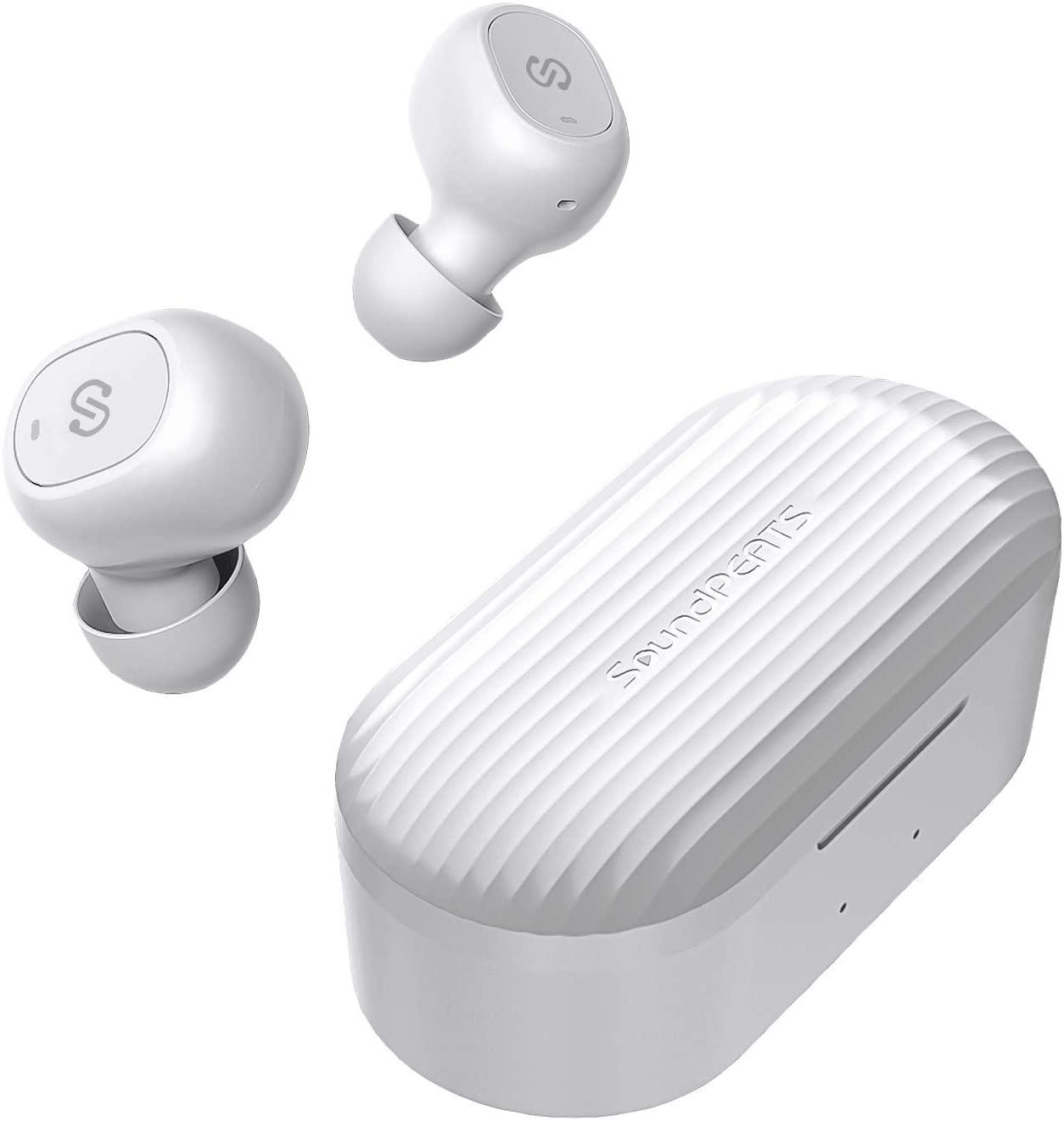 Audífonos Bluetooth SounPEATS TrueFree+ con descuento por el Buen Fin 2020 en Amazon México