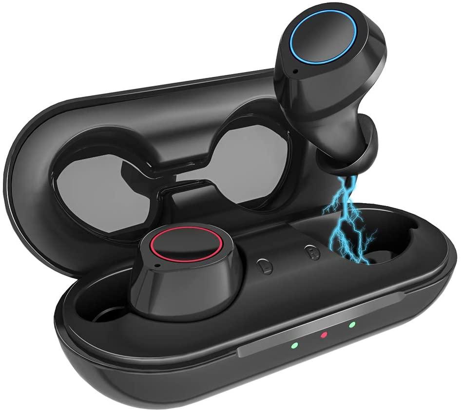 Audífonos inalámbricos deportivos Kungix en oferta por el Buen Fin 2020 en Amazon México