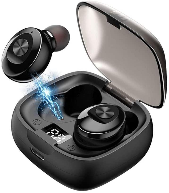 Audífonos con sonido estéreo 3D y conexión Bluetooth.