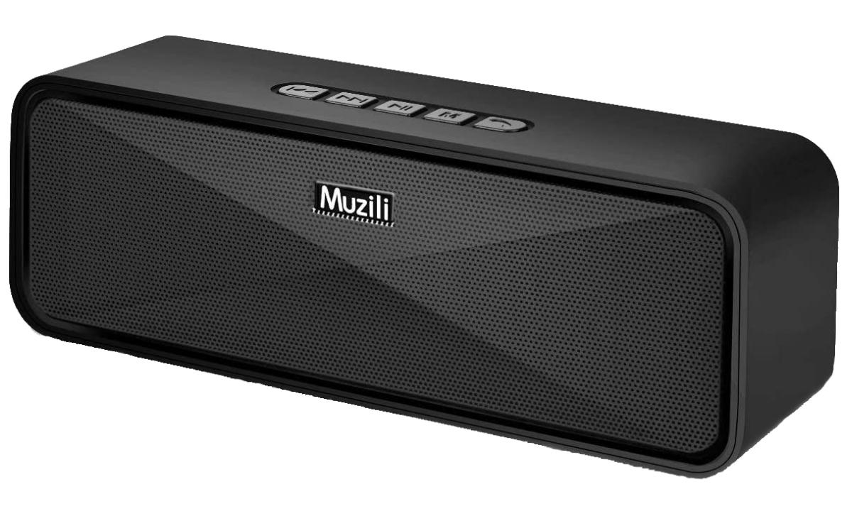 Bocina Bluetooth Muzili con sonido estéreo HD