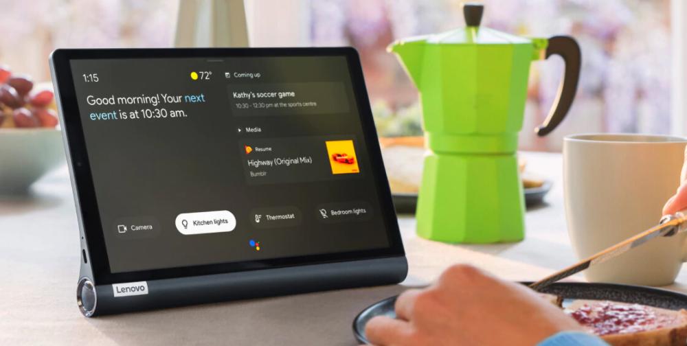 Lenovo Yoga Smart Tab en promoción por el Buen Fin 2020