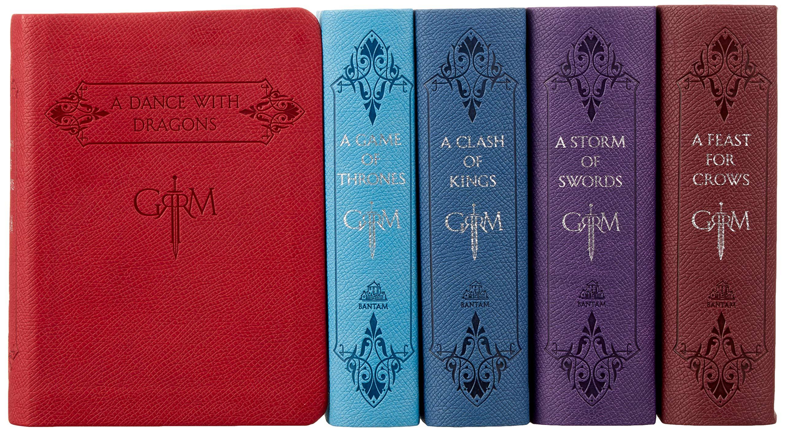 Box set de libros Game of Thrones con 20% de descuento en Amazon México