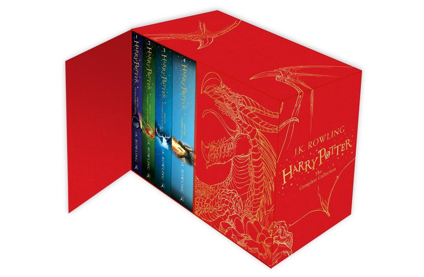 Box set de libros Harry Potter con 20% de descuento en Amazon México