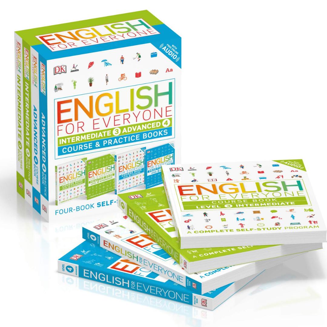 Box set English For Everyone con 20% de descuento en Amazon México