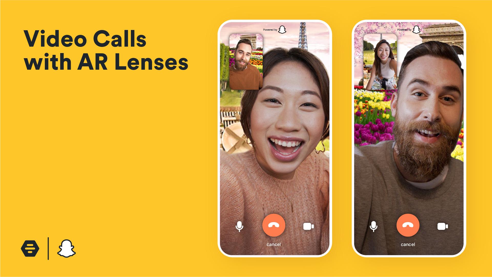 Bumble X Snapchat: videollamadas | PandaAncha.mx