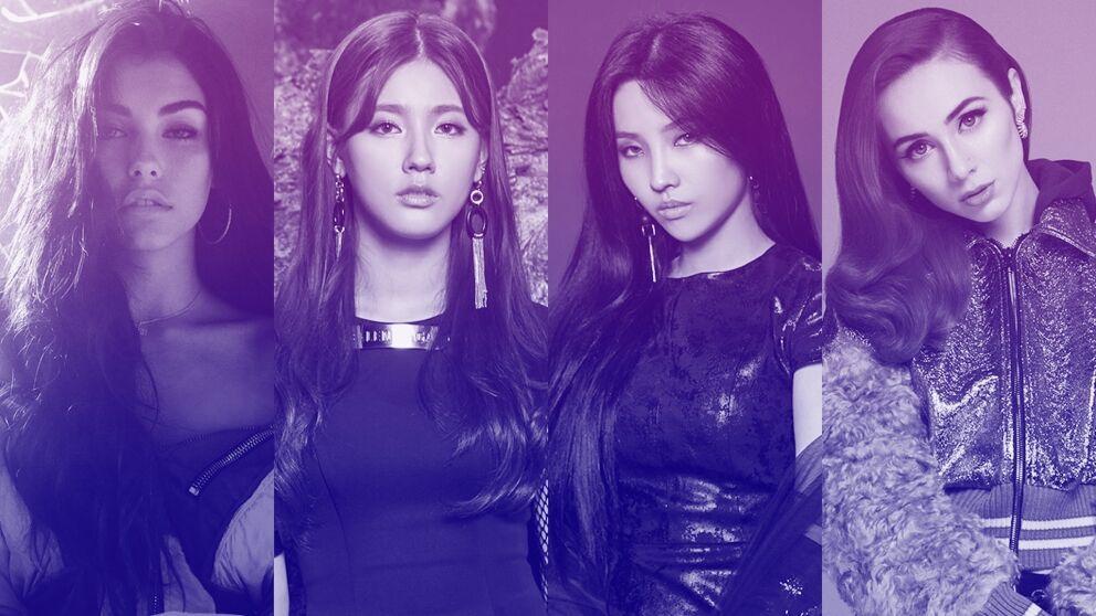 Interpretes de la canción POP/STARS del grupo ficticio K/DA