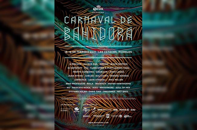 Cartel oficial del Carnaval de Bahidorá