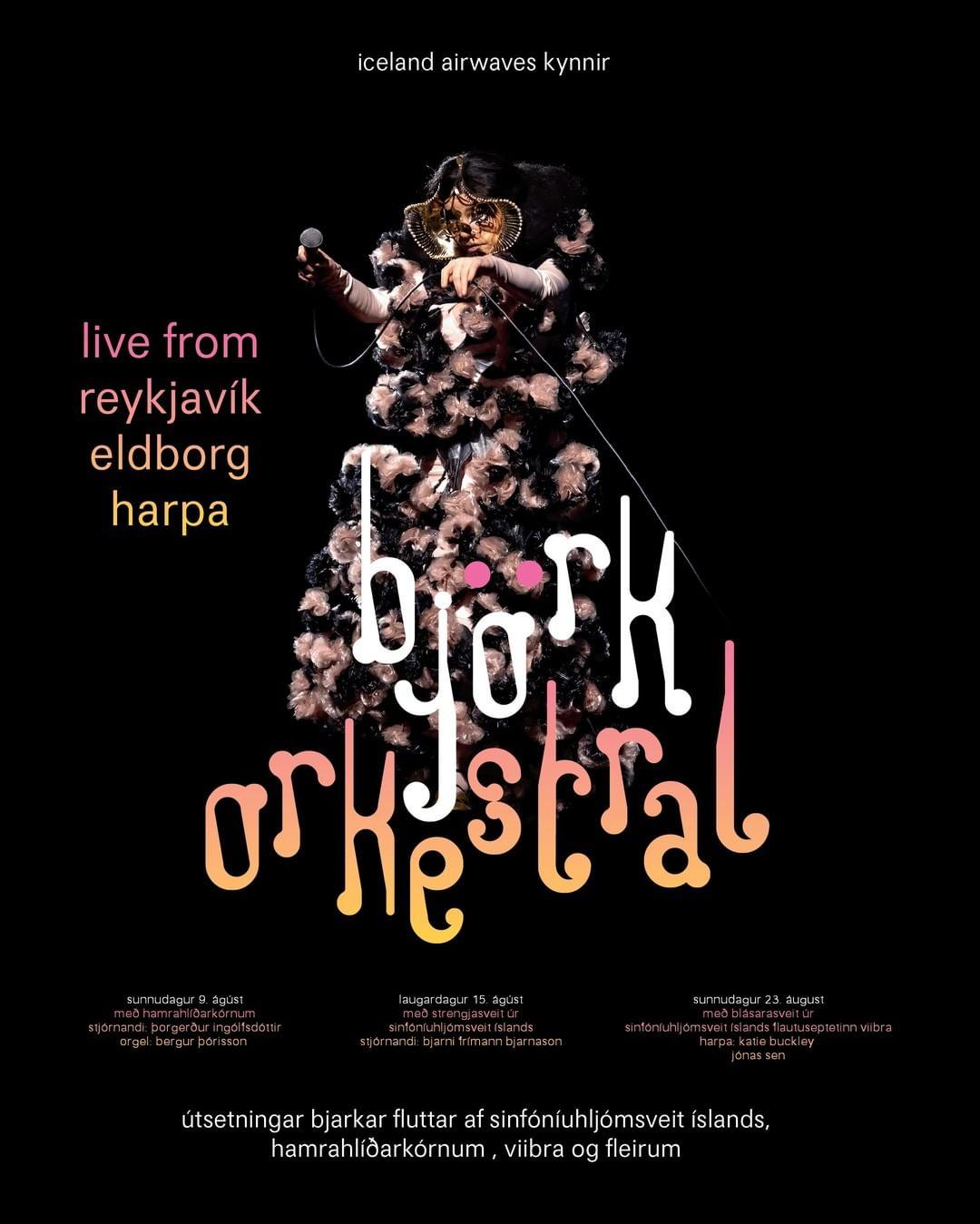 Boletos para Björk Orkestral vía streaming.