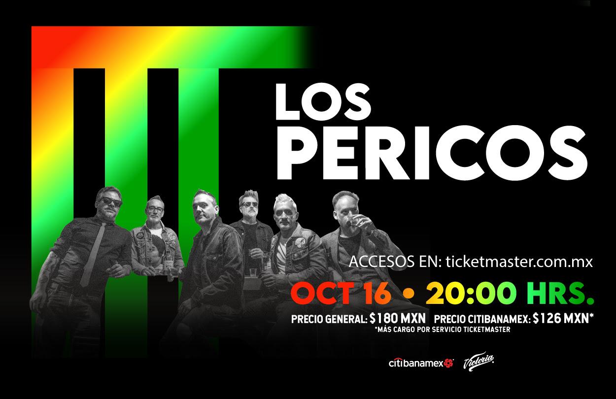 Concierto Irrepetible de Los Pericos vía streaming.