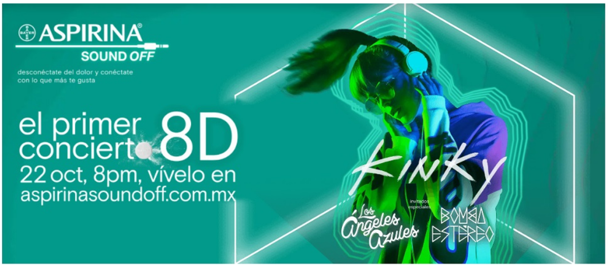 Cartelera Digital 2020: concierto Aspirina Sound Off vía streaming