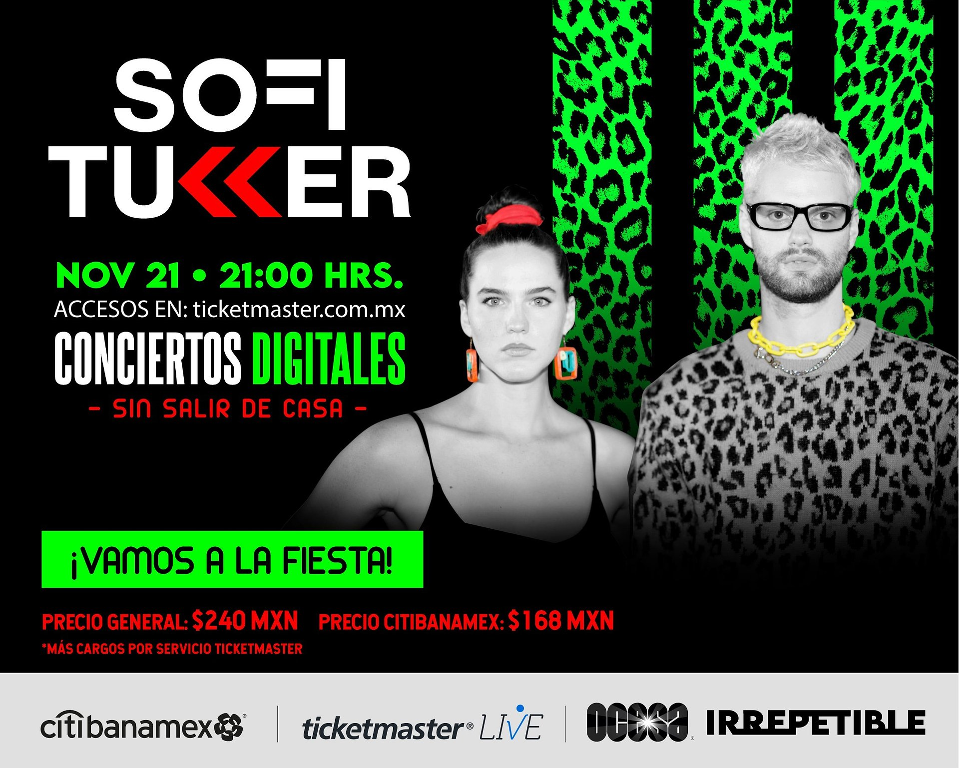 Cartelera Digital 2020: concierto de Sofi Tukker vía streaming