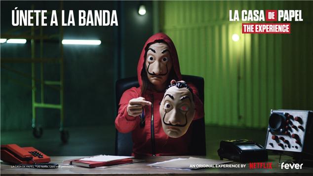 La Casa de Papel: The Experience llegará a México