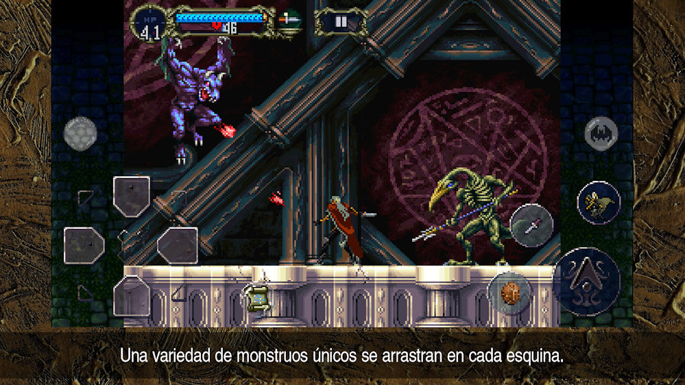 Castlevania: Symphony of the Night para smartphones Android e iOS