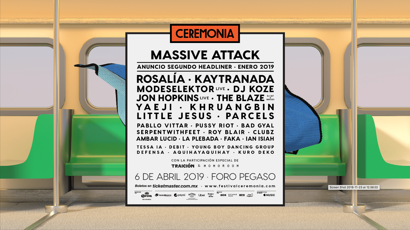 Ceremonia 2019 cartel