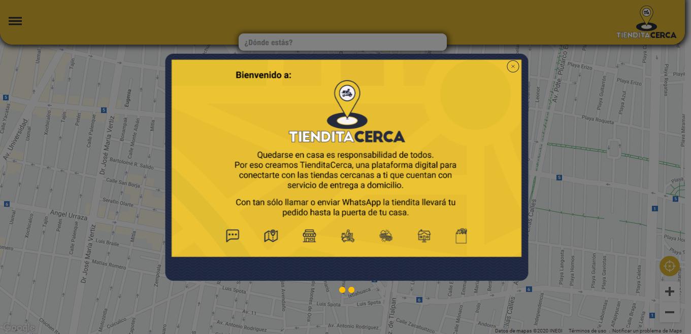 Tiendita Cerca es el directorio para conocer negocios pequeños que realizan envíos de tus pedidos hasta la puerta de tu casa.