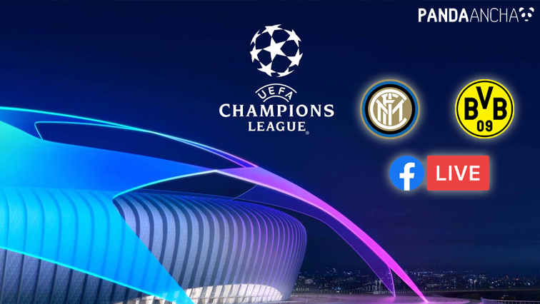 Inter vs Borussia Dortmund en vivo por Facebook