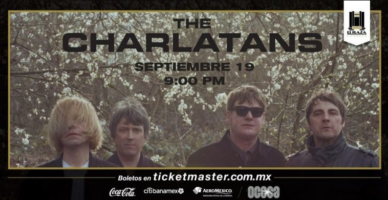 the charlatans cdmx 2018
