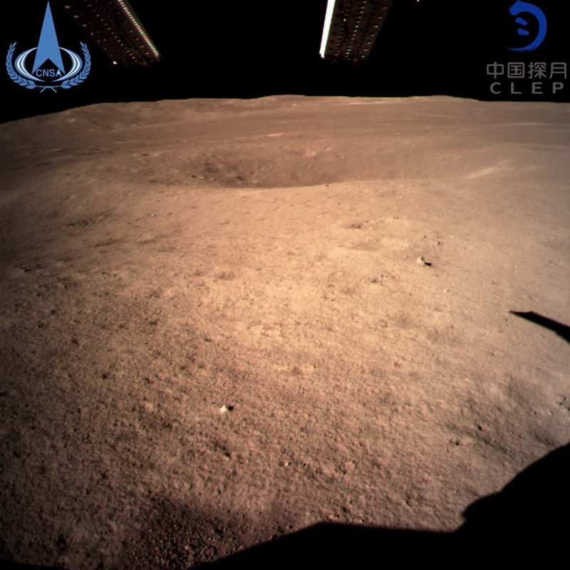 China logra primeros brotes de una planta en la Luna