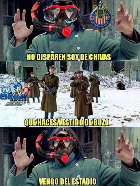 cruz azul vs chivas memes 2018