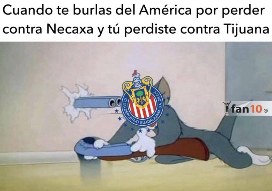 chivas vs tijuana 2018 memes