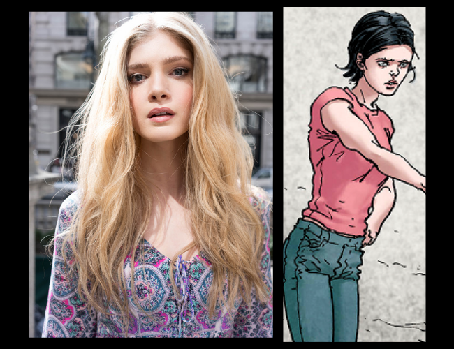 Elena Kampouris es Chloe Sampson