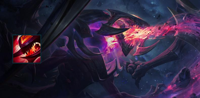 Paquete Cho'Gath estrella oscura League of Legends