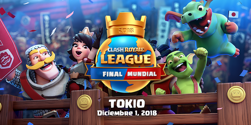 Final Mundial de Clash Royale League en Tokio, Japón
