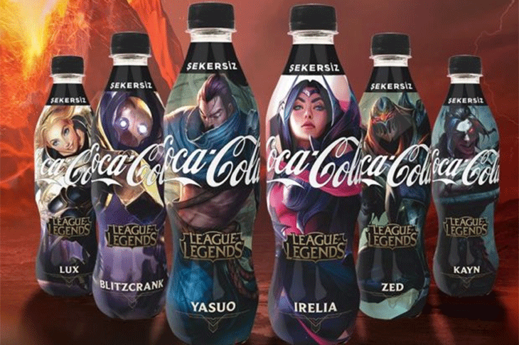 Coca Cola será patrocinador de la LLA de League of Legends