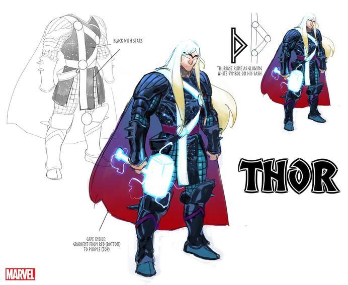 Nuevo look de Thor