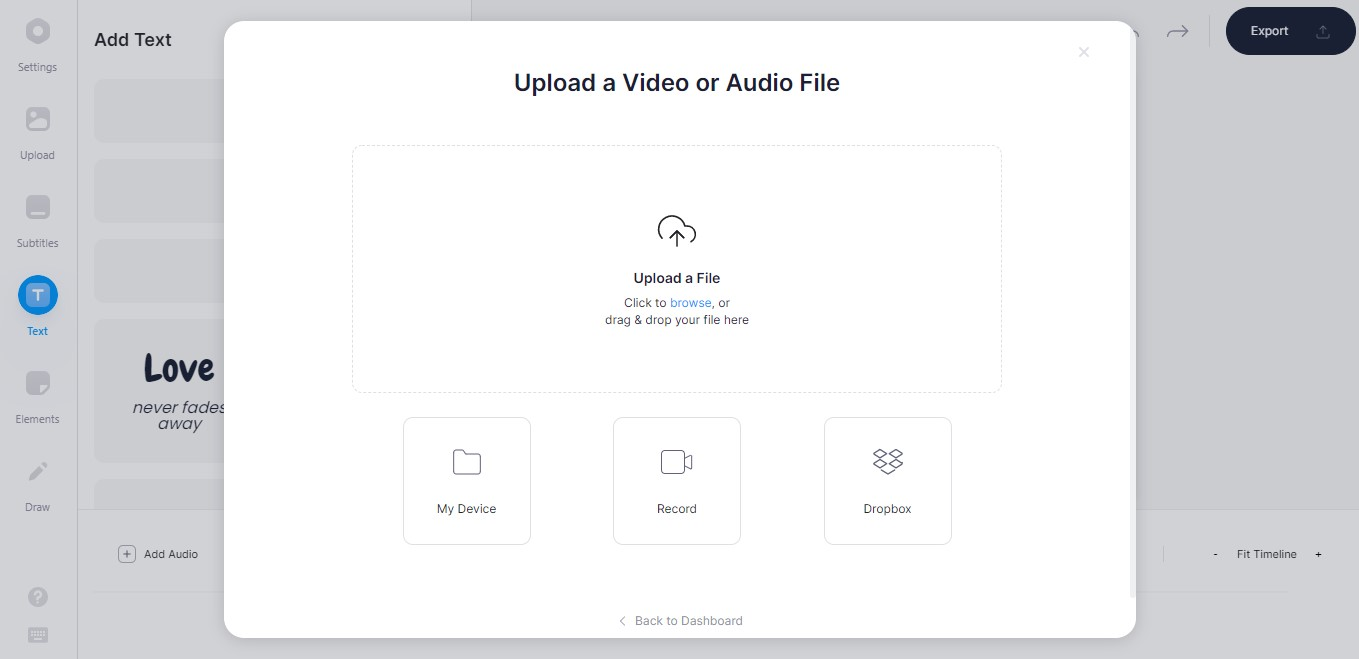 Sube tu imagen GIF o video