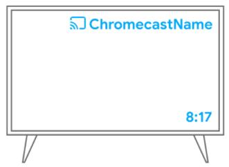 Tu Chromecast se conectará a la red Wifi y ya está configurado