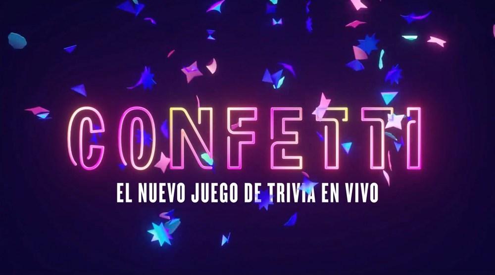 Confetti juego Facebook México