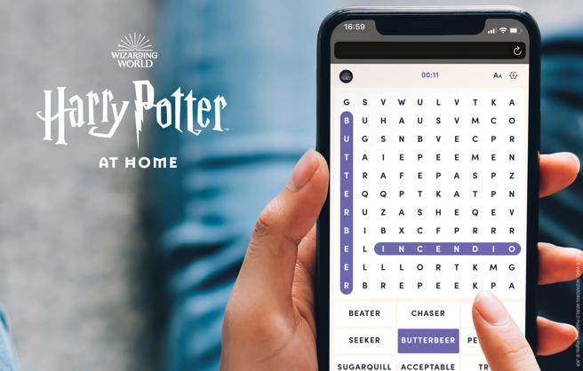 Juegos de Harry Potter at Home