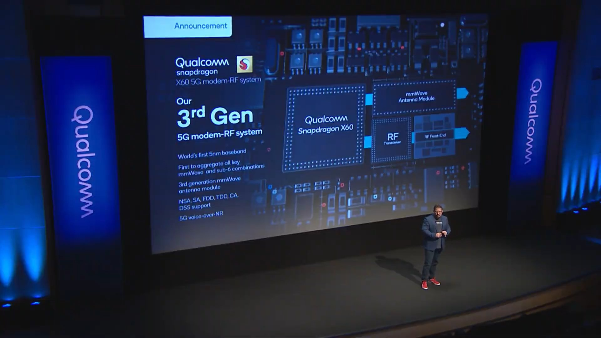 Cristiano Amon, presidente ejecutivo de Qualcomm en What's Next in 5G.