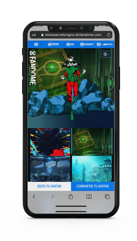 Cómo crear tu avatar de superhéroe de DCFanDome