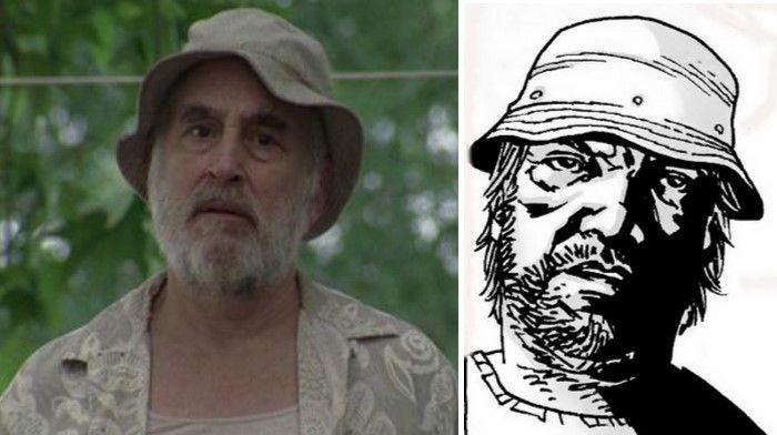 Dale Horvath en la serie y cómic