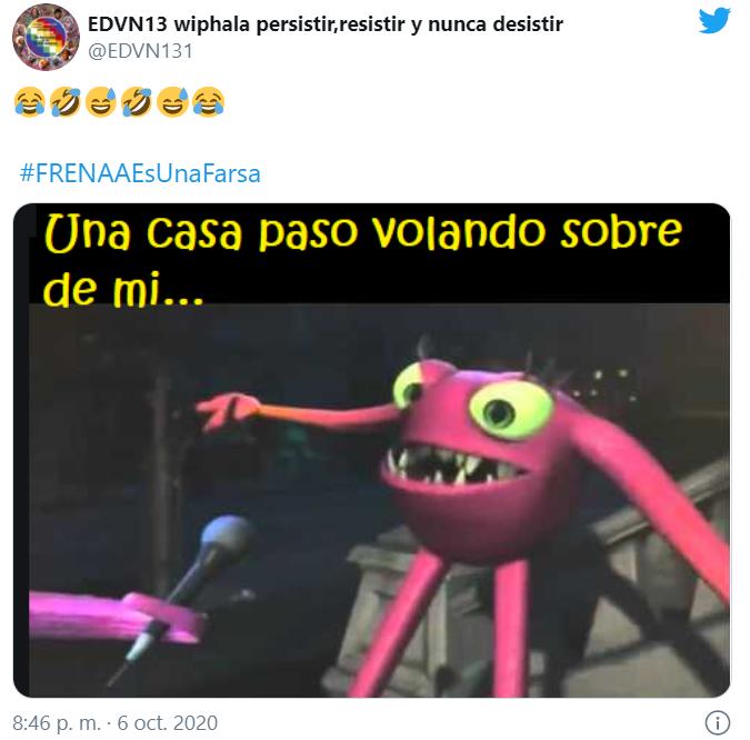 Memes de las casas de campaña voladoras de FRENAAA