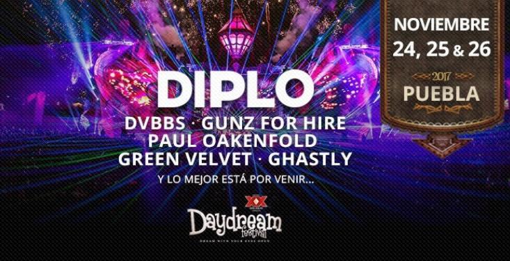 Lineup Daydream México 2017