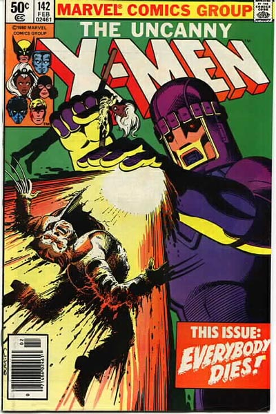 Portada de Uncanny X-Men Vol. 1 #142