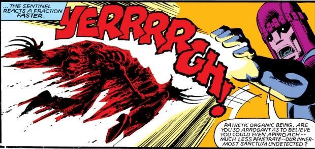 Wolverine es desintegrado