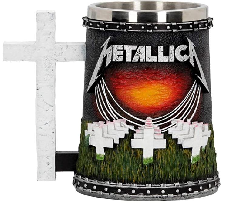Tarro de cerveza de Metallica