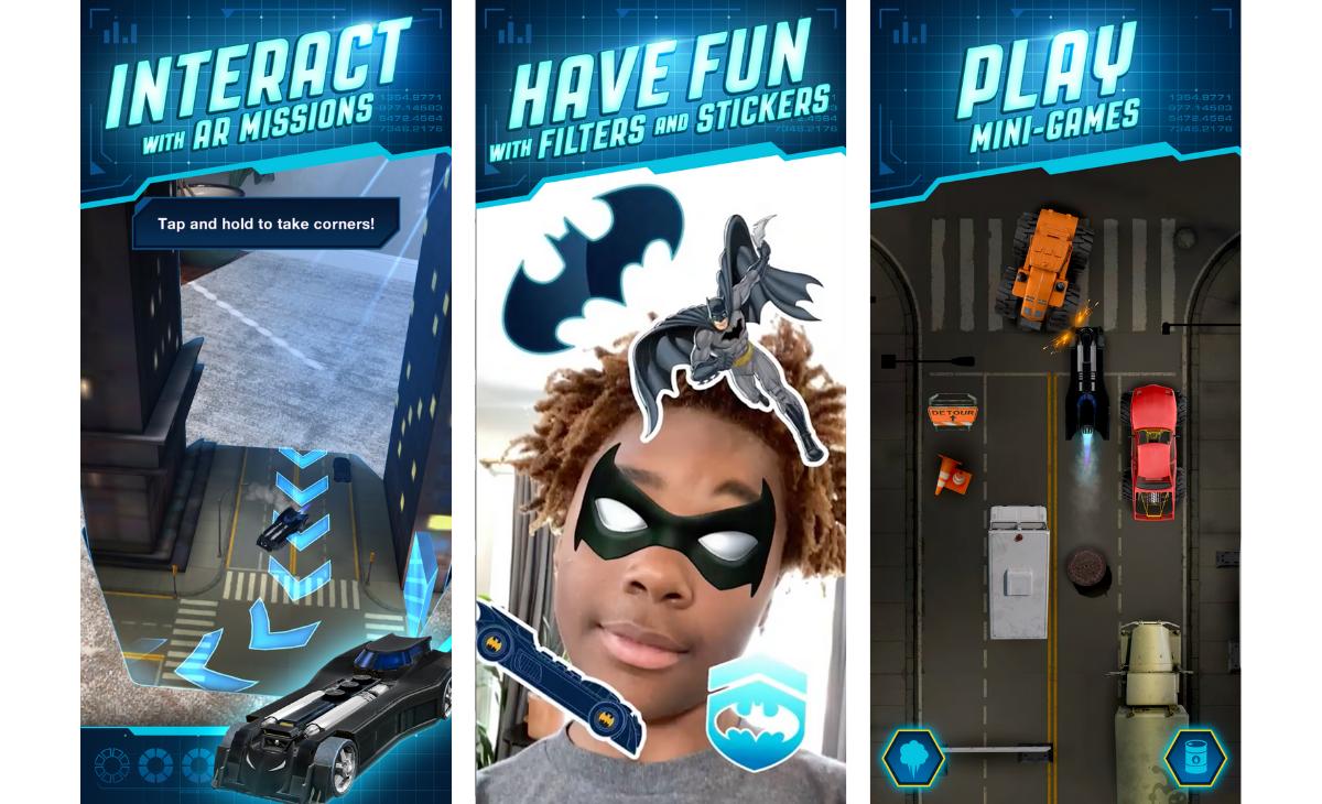 DC: Batman Bat-Tech Edition: app para niños | PandaAncha.mx