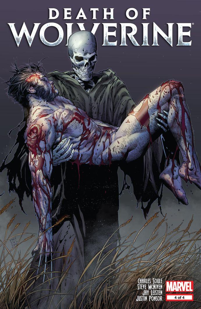 Portada de Death of Wolverine #4