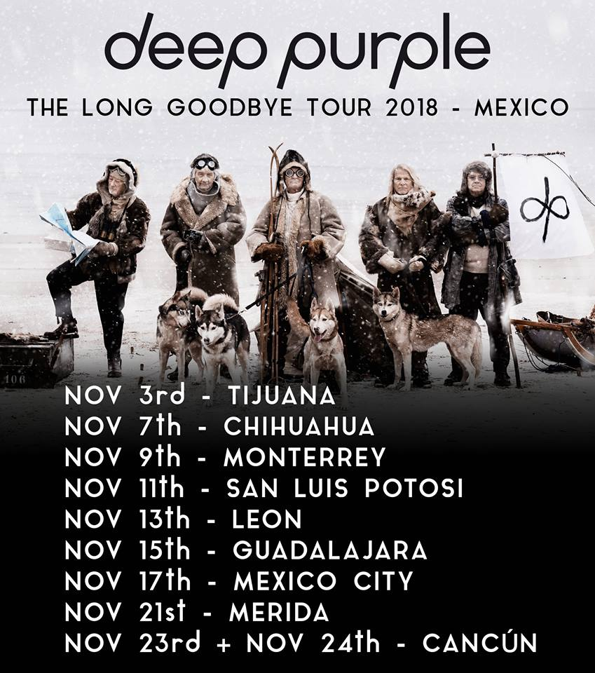 deep purple méxico 2018